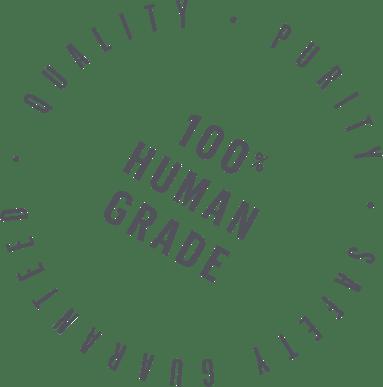 100% Human Grade logo